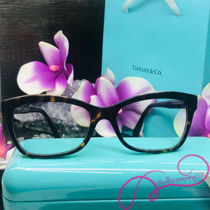 NWOT Tiffany & Co. Havana Eyeglass Frames, TF2167